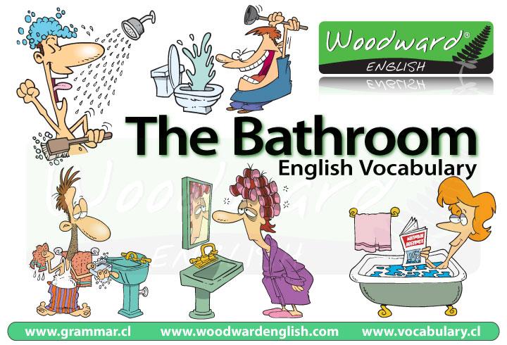 Bathroom English Vocabulary Vocabulario Ingl 233 S El Ba 241 O