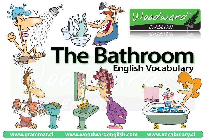 Resultado de imagen de the bathroom vocabulary