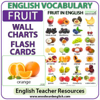 Fruit English Vocabulary List And Fruit Vs Fruits Grammar